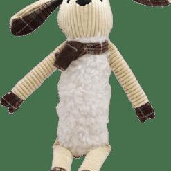petfles knuffel konijn
