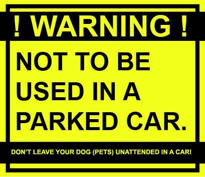 waarschuwings sticker