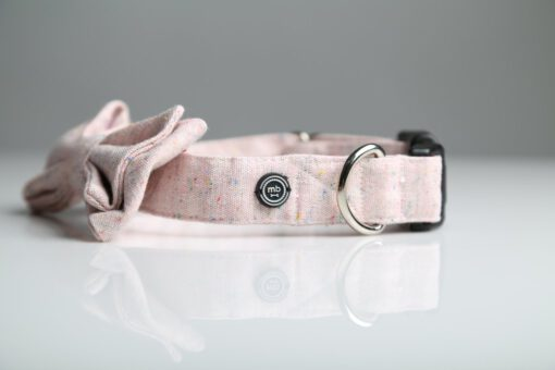 aMB rose bow tie back