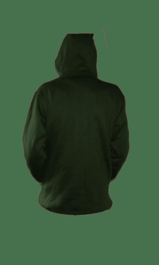 ibizabully hoodie groen achterzijde