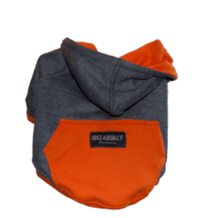 ibizabully hoodie orange achterzijde