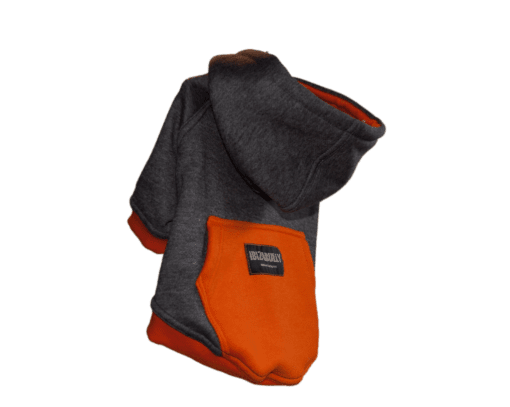 ibizabully hoodie orange zijkant