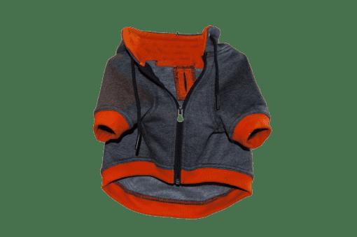 ibizabully hoodie orange voorzijde