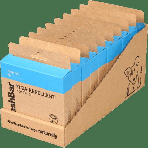 Washbar aromatische vacht- olie als natuurlijk alternatief blister
