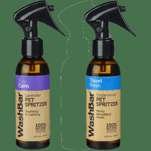 Washbar travel bottles