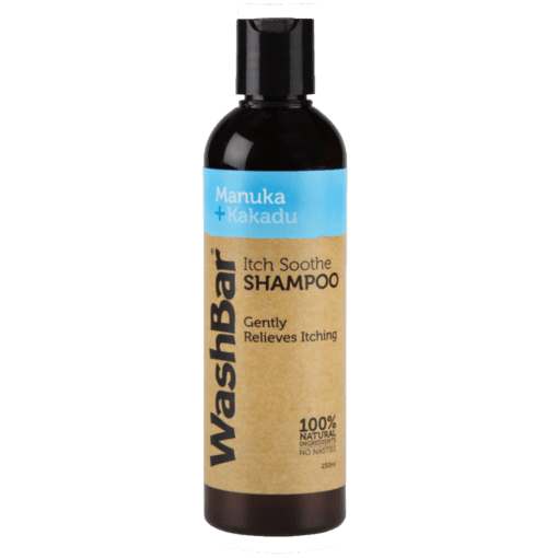 WashBar itchi shampoo voorzijde