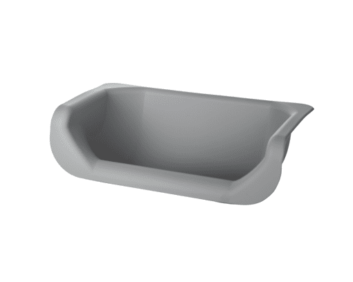 Normal inlay grey