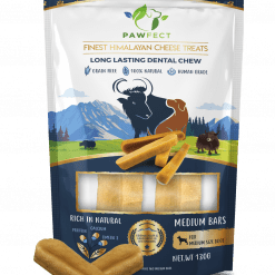Pawfect Chew Medium met bars ervoor