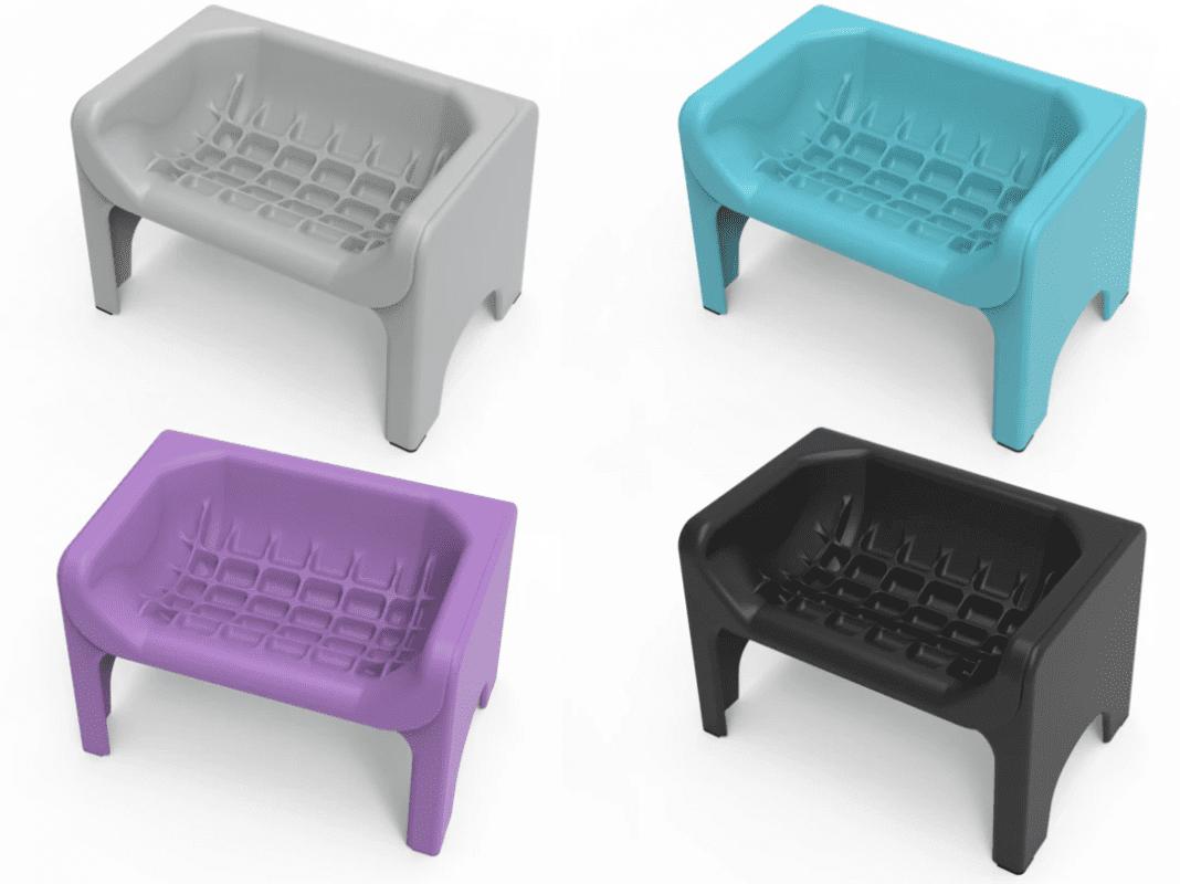 Anti schrokbak - Fluff Trough kleuren