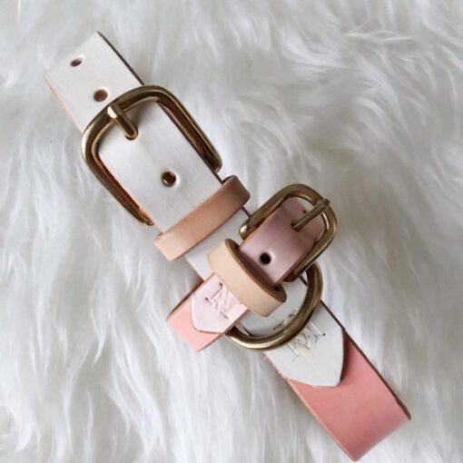 DIY collar white/rose