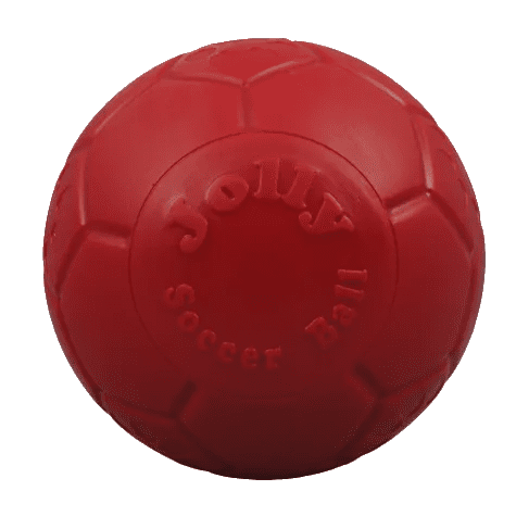 Jolly Pets soccer ball rood