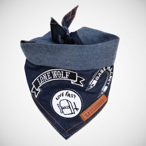 Lonewold_folded_bandana