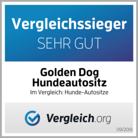 Golden-Dog-keurmerk stempel